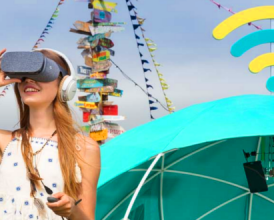 EE just ruined Glasto with this 4G smart tent