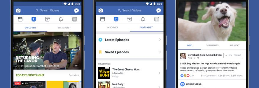 Facebook Watch is coming as Zuckerberg takes on TV 2
