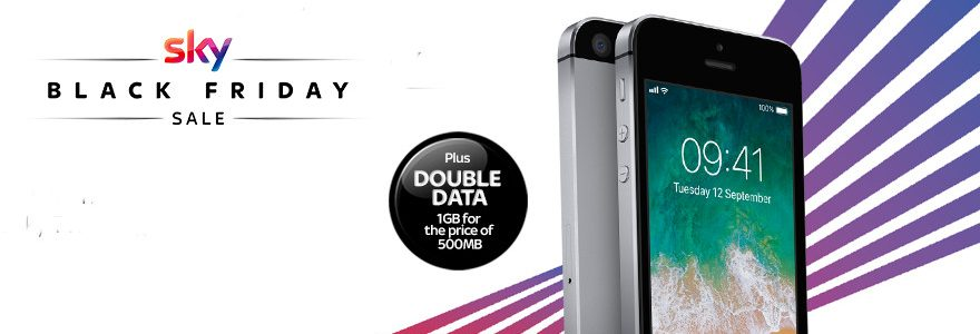 Black Friday deals: Sky Mobile double data