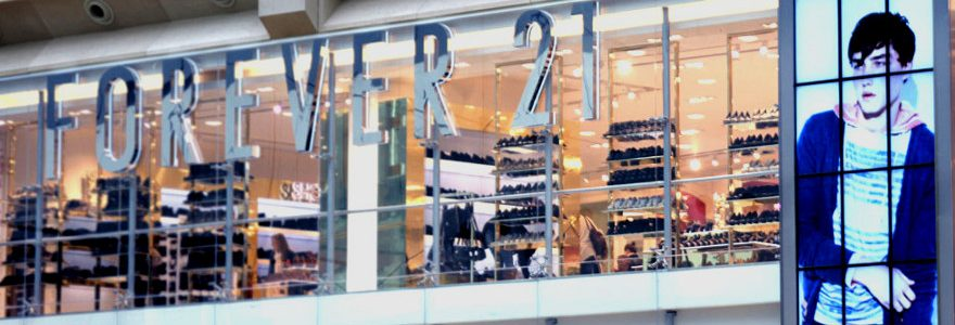 FOREVER 21 customers may have lost money through card payment security breach
