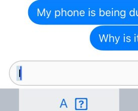 iPhone iOS bug: Update means users can't type 'I'