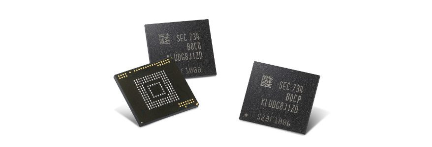 Samsung is making 512GB memory chips for smartphones