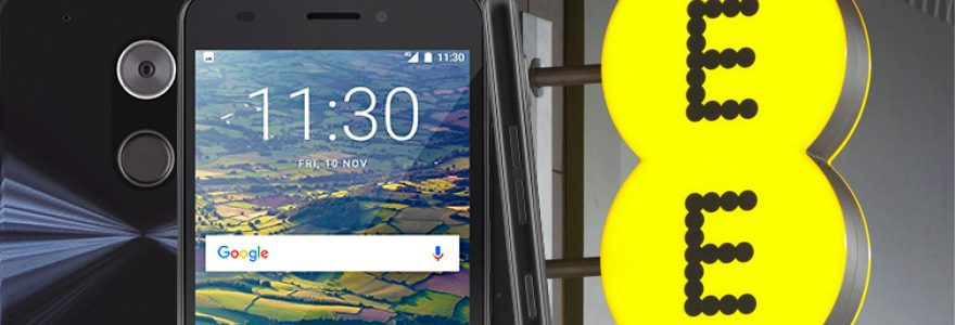 EE 4G Hawk smartphone now £30 off