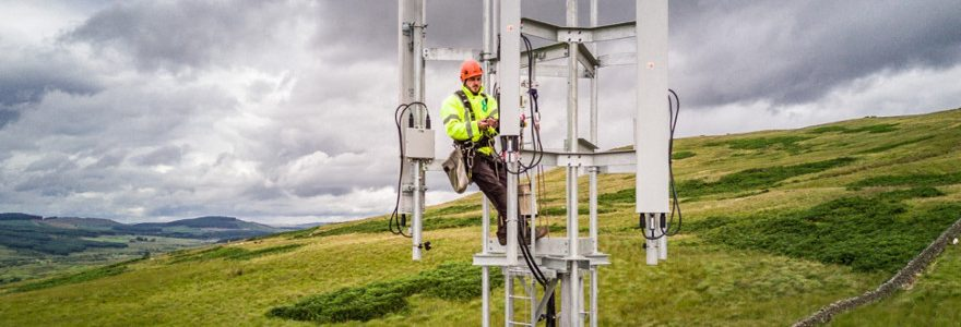 EE switch on new 4G sites in west Scotland