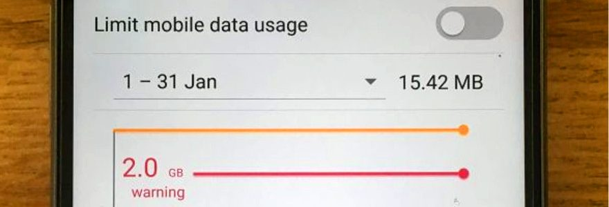 How to check how your data usage on Android