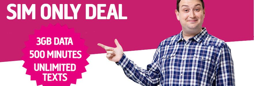 Plusnet deal: 3GB/500 minutes £8 a month 1