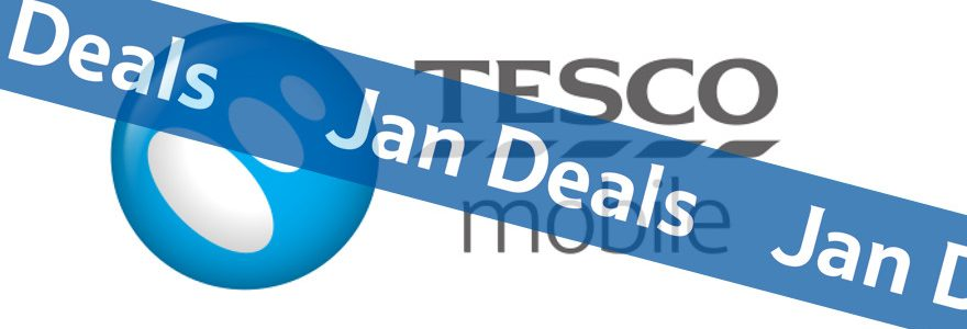 Tesco Mobile SIM Only deals half price in January sales