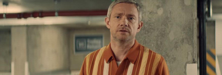 Martin Freeman Vodafone ad escapes ban but can't get four bars underground 1
