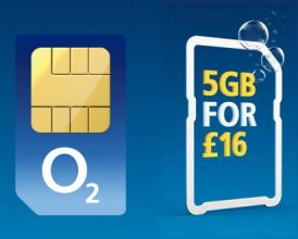 O2 SIM Only Easter sale: 5GB for £16