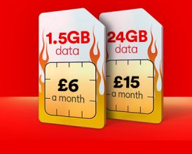 Virgin triples data on cheap SIM Only deals