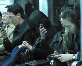 Smartphone sales see first global decline